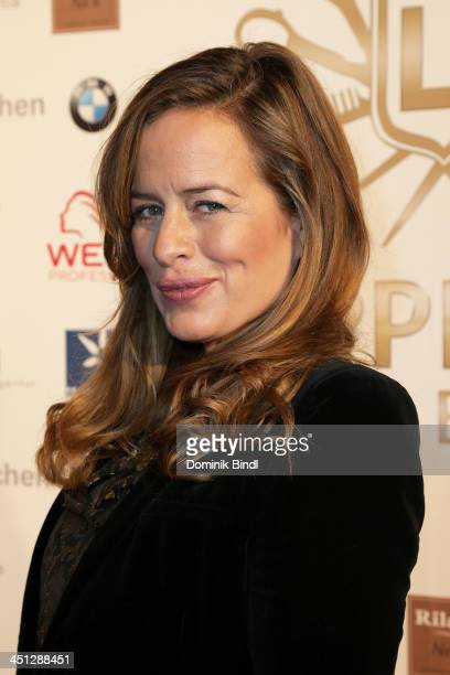 Jade Jagger attends the Lippert's Friseure L1 Reopening at Rilano No 6 on November 21 2013 in Munich Germany