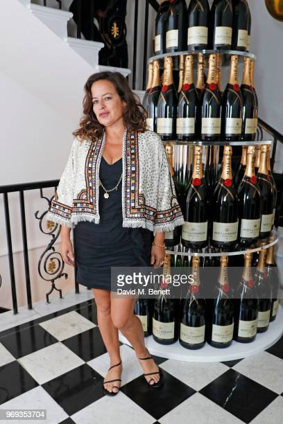 Jade Jagger attends the Moet Summer House VIP launch night on June 7 2018 in London England