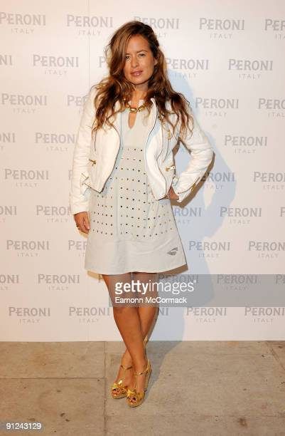 Jade Jagger attends the Peroni Blue Ribbon Design Awards with Alessi on September 29 2009 in London England