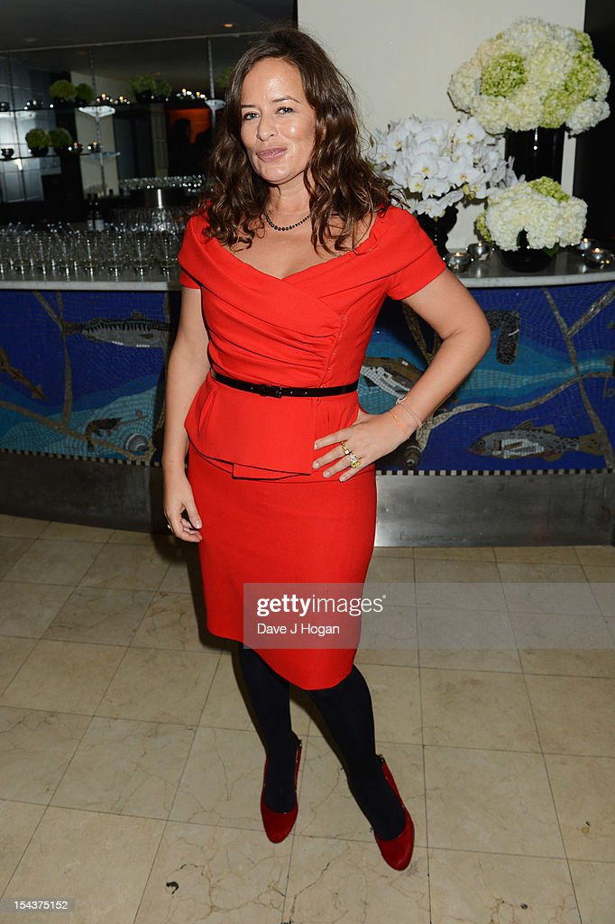 Jade Jagger attends the premiere afterparty of 'Crossfire Hurricane' during the 56th BFI London Film Festival at Quaglinos on October 18, 2012 in London, England.