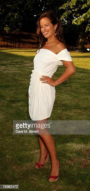 Jade Jagger attends the Serpentine Summer Party at The Serpentine Gallery on July 11 2007 in London England
