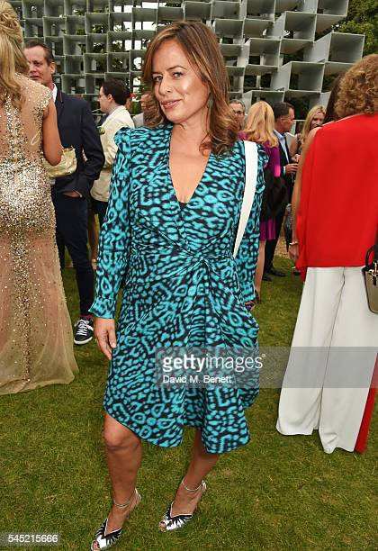 Jade Jagger attends The Serpentine Summer Party cohosted by Tommy Hilfiger on July 6 2016 in London England