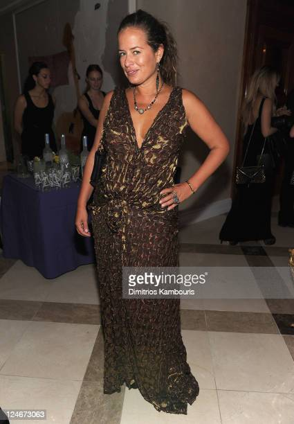 Jade Jagger attends Total Management's Fashion Week Party with Jade Jagger and Gilt City to Bring Awareness to Gabrielle's Angel Foundation at...