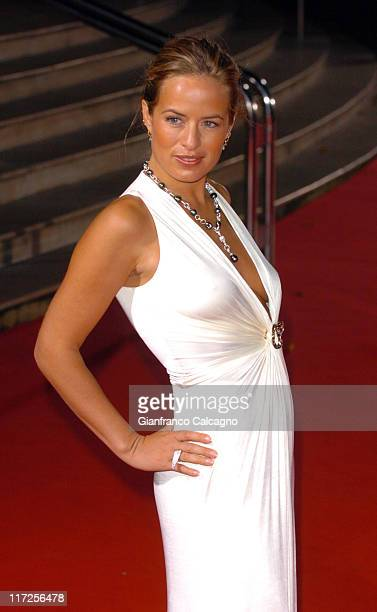 Jade Jagger during 2006 World Music Awards Red Carpet Arrivals at Earls Court in London Great Britain