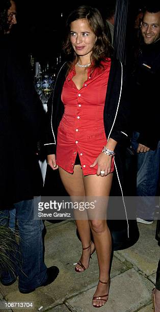 Jade Jagger during Women's Wear Daily The Ultimate Fashion Authority and Diamond Information Center Host Dazzling With Color and Dripping With...