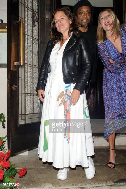 Jade Jagger sighting at 34 Restaurant Mayfair on May 24 2018 in London England