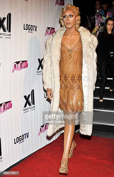 Jade Jolie attends the RuPaul's Drag Race season 5 party at XL Nightclub on January 25 2013 in New York City