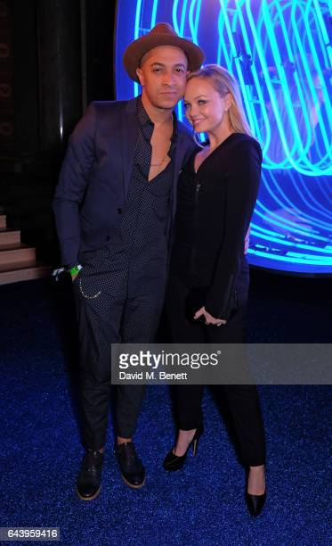 Jade Jones and Emma Bunton attend The Warner Music Ciroc Brit Awards After Party on February 22 2017 in London England