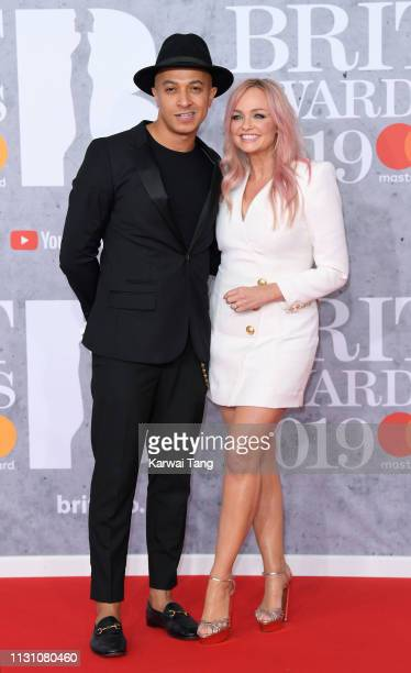 Jade Jones and Emma Bunton attends The BRIT Awards 2019 held at The O2 Arena on February 20, 2019 in London, England.