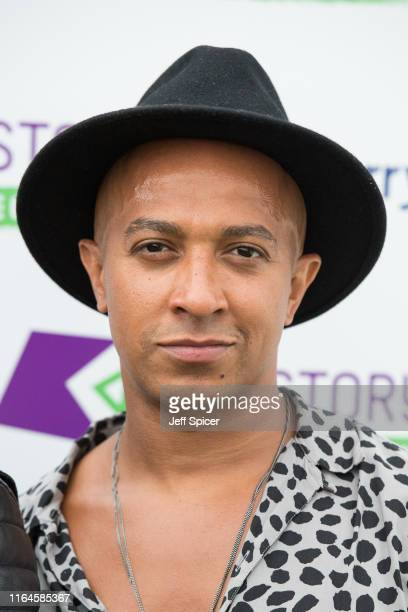 Jade Jones from Damge attends KISSTORY On The Common 2019 at Streatham Common on July 27, 2019 in London, England.