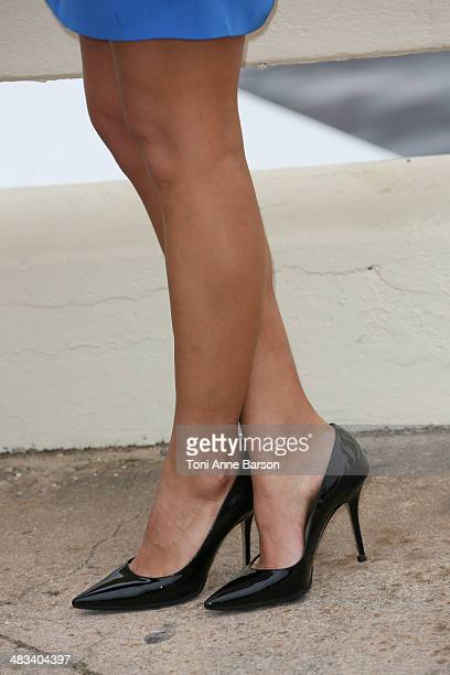 Jade Laroche attends photocall for Dorcel 35th Anniversary at MIPTV 2014 at Hotel Majestic Jetty on April 8 2014 in Cannes France