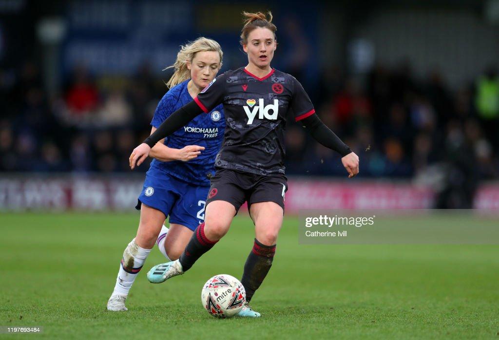 Chelsea v Reading - Barclays FA Women's Super League : Nachrichtenfoto
