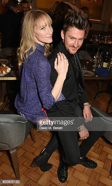 Jade Parfitt and Henry Holland attend the STYLE x PRINCIPAL Party at The Principal Manchester on November 3 2016 in Manchester England