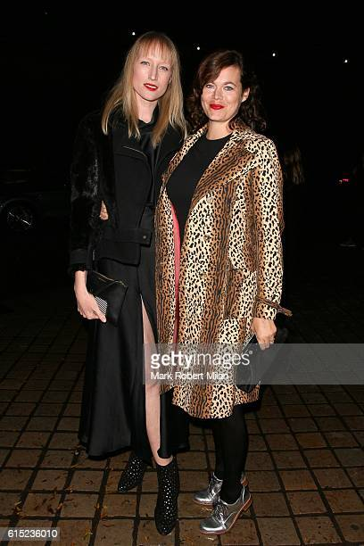 Jade Parfitt and Jasmine Guinness attending the Red Women Of The Year Awards 2016 on October 17 2016 in London England