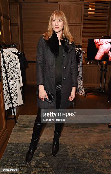 Jade Parfitt attends a cocktail reception hosted by Giles Deacon to celebrate the launch of the Giles/EDITION collection for Debenhams at The London...