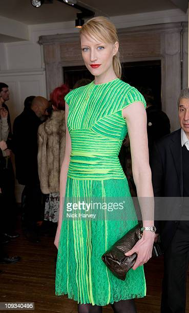 Jade Parfitt attends a party during LFW celebrating Alexander Wang's 'Love In' as well as the Androgyny issue of the Conde Nast title LOVE at Liberty...