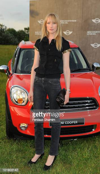 Jade Parfitt attends photocall to launch the MINI Countryman open air event on June 8 2010 in London England