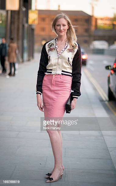 Jade Parfitt attends private event to celebrate JCrew And Central Saint Martins partnership at JCrew on May 22 2013 in London England
