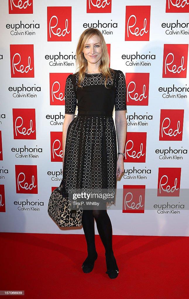 Jade Parfitt attends Red's Hot Women Awards, in association with euphoria Calvin Klein on November 28, 2012 in London, United Kingdom.