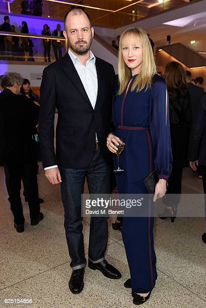 Jade Parfitt attends the launch of the new Design Museum cohosted by Alexandra Shulman Sir Terence Conran Deyan Sudjic on November 22 2016 in London...