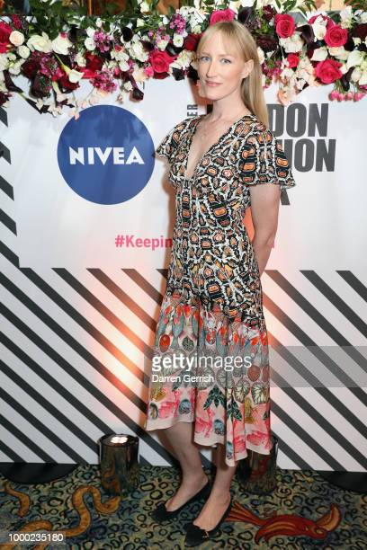 Maxim Magnus attends the launch of the new NIVEA Black and White Invisible last night hosted in partnership with the British Fashion Council at...