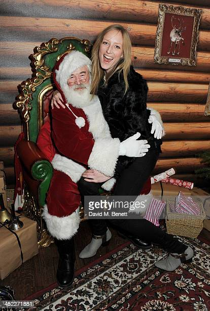 Jade Parfitt attends the launch of the UGG Christmas Grotto at Duke of York Square on November 27 2013 in London England