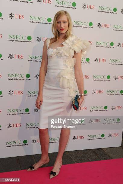 Jade Parfitt attends the NSPCC Pop Art Ball at Banqueting House on May 24 2012 in London England