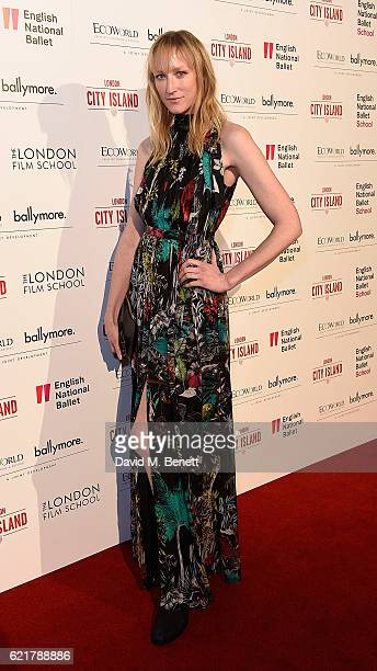 Jade Parfitt attends the opening of London City Island the capital's new cultural neighbourhood on November 8 2016 in London United Kingdom