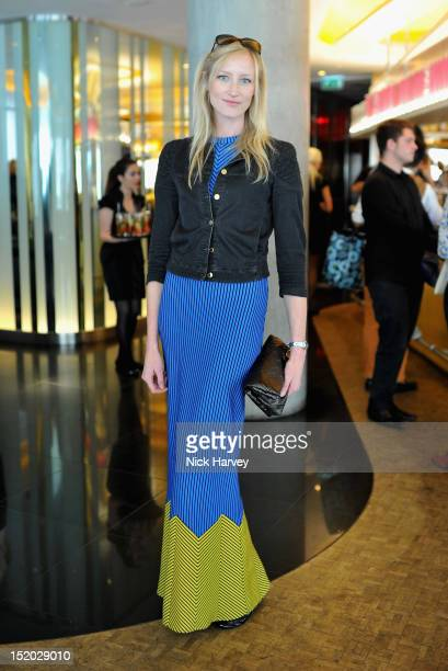 Jade Parfitt attends the Sister By Sibling x W London LFW Tea Salon Launch on September 15 2012 in London England