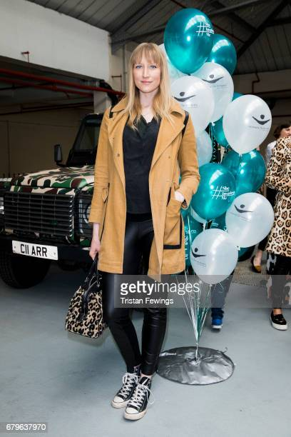 Jade Parfitt attends the Women for Women International #SheInspiresMe car boot sale at Brewer Street Car Park on May 6 2017 in London England