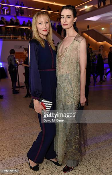 Jade Parfitt Erin O'Connor attend the launch of the new Design Museum cohosted by Alexandra Shulman Sir Terence Conran Deyan Sudjic on November 22...