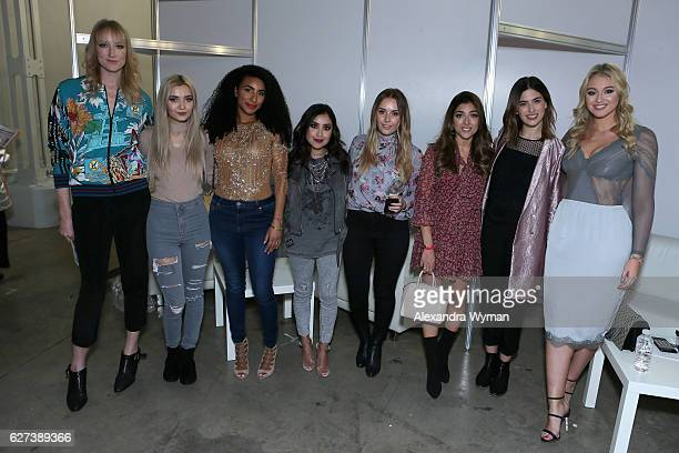 Jade Parfitt Roxxsaurus Curly Proverbz Dulce Candy Hello October Amelia Liana Lily Pebbles and Iskra Lawrence attend Beautycon Festival London 2016...