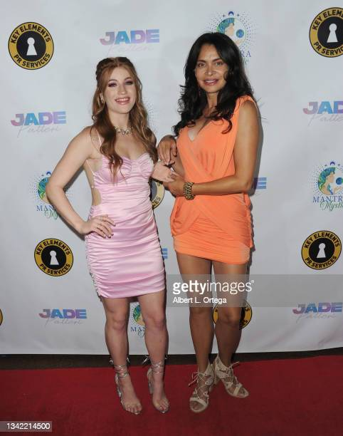 Jade Patteri and Christiana D'amore attend the EP Release Party for Jade Patteri held at The Federal NoHo on September 21, 2021 in North Hollywood,...