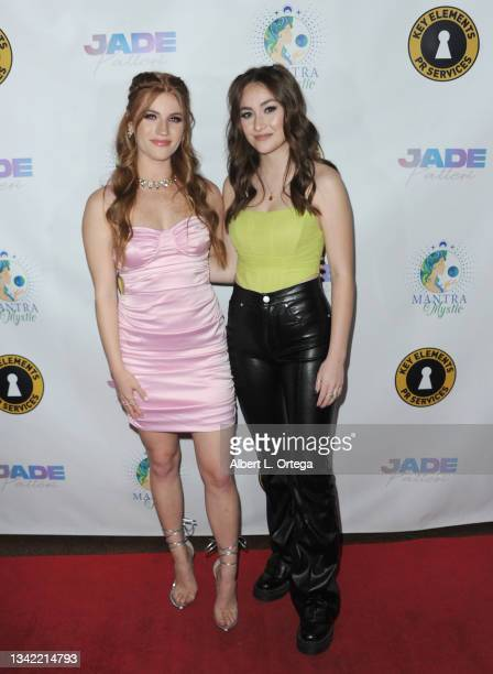 Jade Patteri and Mary Antonovich attend the EP Release Party for Jade Patteri held at The Federal NoHo on September 21, 2021 in North Hollywood,...