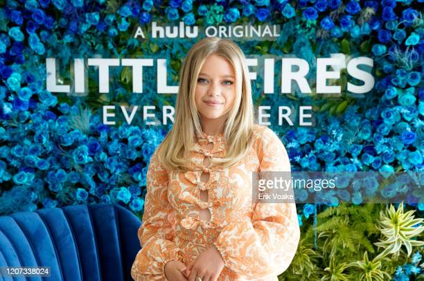 Jade Pettyjohn attends Hulu Little Fires Everywhere Press Brunch at ROSS HOUSE on February 19, 2020 in Los Angeles, California.