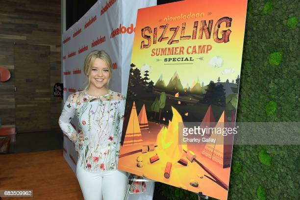 Jade Pettyjohn attends Nickelodeon's Sizzling Summer Camp Special Event on May 15 2017 in Burbank California