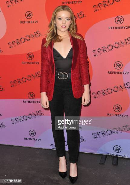 Jade Pettyjohn attends Refinery29's 29Rooms Los Angeles 2018 Expand Your Reality at The Reef on December 04 2018 in Los Angeles California
