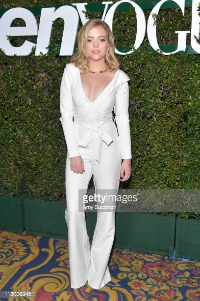 Jade Pettyjohn attends Teen Vogue's 2019 Young Hollywood Party Presented By Snap at Los Angeles Theatre on February 15 2019 in Los Angeles California