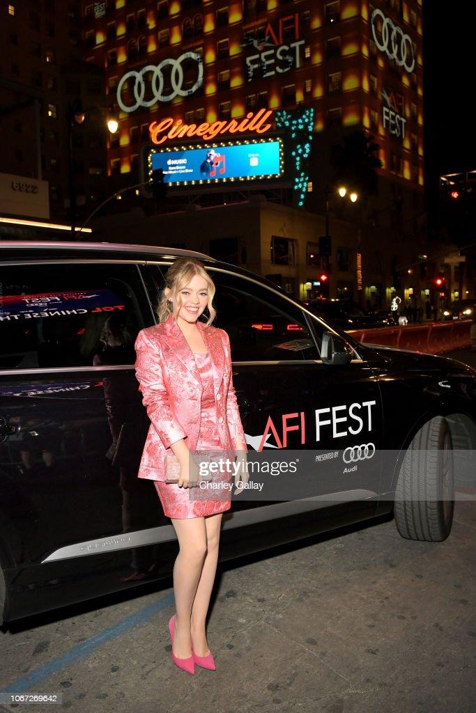 Audi Host Private Dinner For AFI Film 'Destroyer' : News Photo