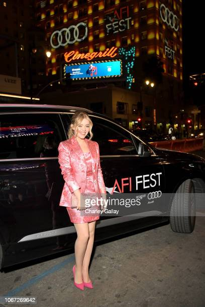 Jade Pettyjohn attends the Audi hosted private dinner for 'Destroyer' during AFI FEST 2018 at Public Kitchen Bar at the Roosevelt on November 13 2018...