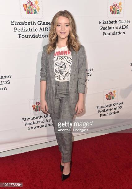 Jade Pettyjohn attends the Elizabeth Glaser Pediatric Aids Foundation's 30th Anniversary A Time For Heroes Family Festival at Smashbox Studios on...