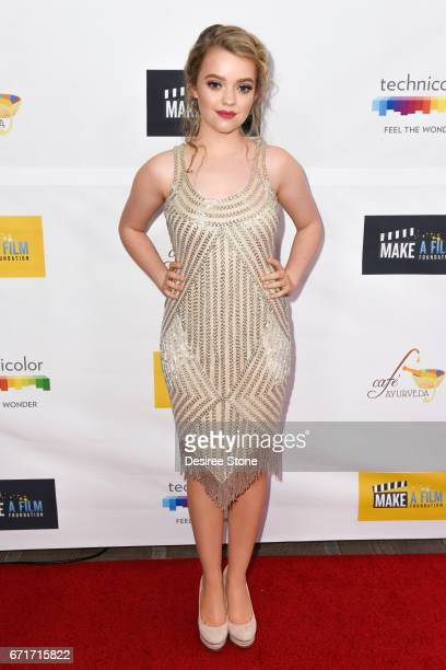 Jade Pettyjohn attends the Premiere of 'The Black Ghiandola' hosted by Make A Film Foundation at Samuel Goldwyn Theater on April 22 2017 in Beverly...