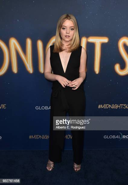 Jade Pettyjohnattends Global Road Entertainment's world premiere of 'Midnight Sun' at ArcLight Hollywood on March 15 2018 in Hollywood California
