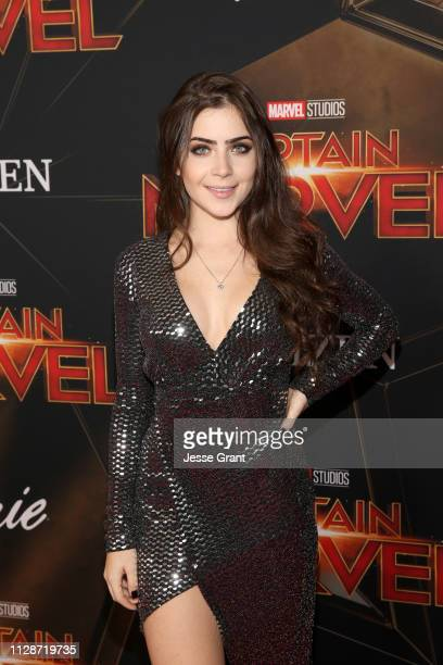 Jade Picon attends the Los Angeles World Premiere of Marvel Studios' Captain Marvel at Dolby Theatre on March 4 2019 in Hollywood California