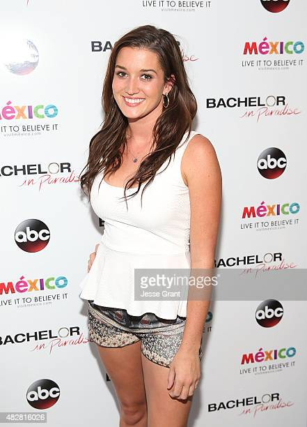 Jade Roper attends the Bachelor In Paradise Returns To Mexico For Season 2 Premiere Party at Mixology101 on August 2 2015 in Los Angeles California...