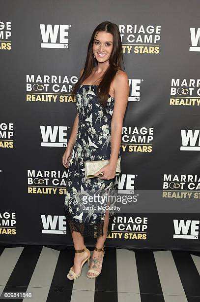 Jade Roper attends The Season 6 Premiere of Marriage Boot Camp Reality Stars at Up Down on September 22 2016 in New York City