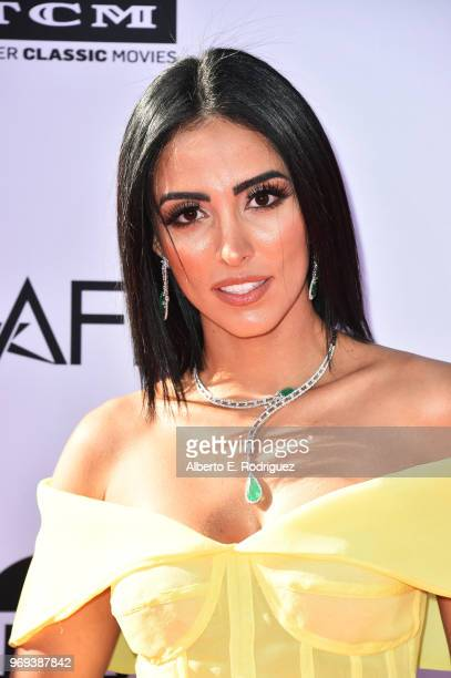 Jade Seba attends American Film Institute's 46th Life Achievement Award Gala Tribute to George Clooney at Dolby Theatre on June 7 2018 in Hollywood...