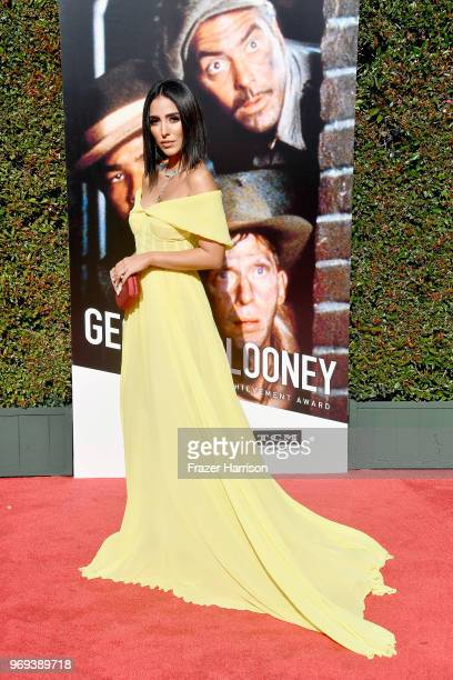 Jade Seba attends the American Film Institute's 46th Life Achievement Award Gala Tribute to George Clooney at Dolby Theatre on June 7 2018 in...