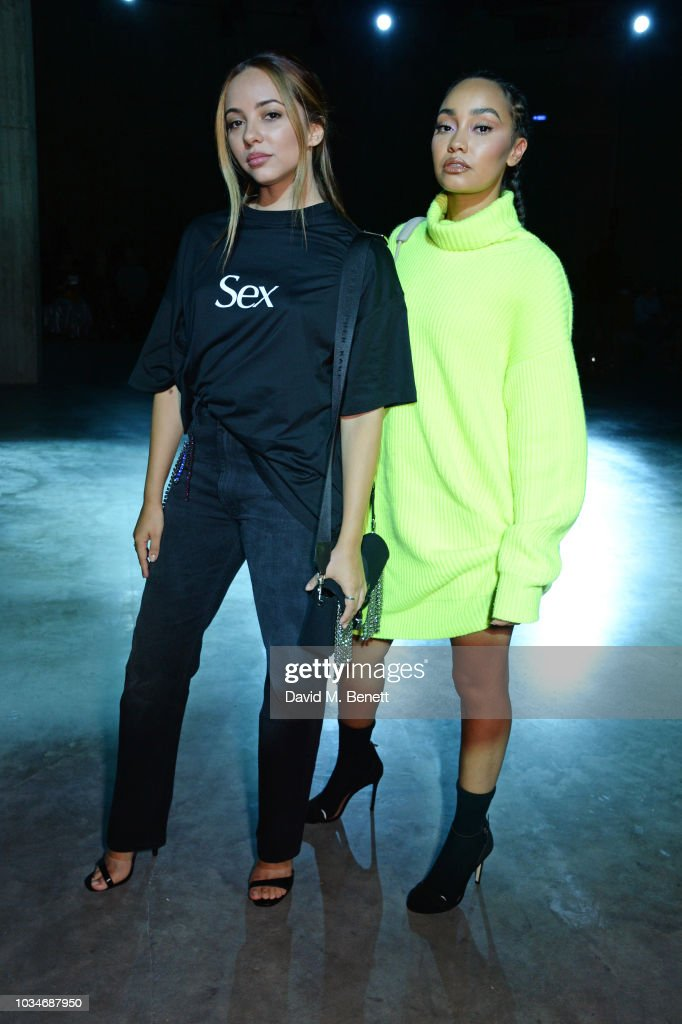 Christopher Kane - Front Row - LFW September 2018 : News Photo