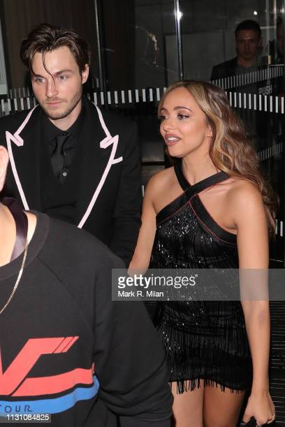 Jade Thirlwall attending the Sony BRITS 2019 After Party at Aquashard on February 20 2019 in London England